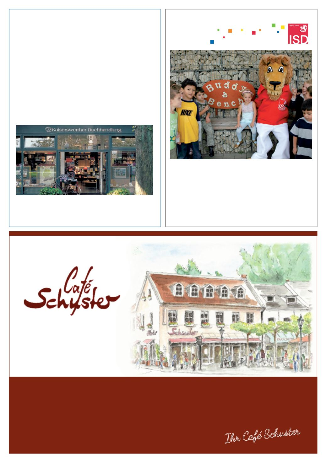 cafe schuster kaiserswerth